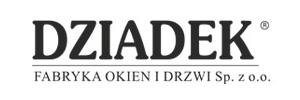 Dziadek logo - fabryka okien i drzwi Szczecin