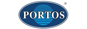 PORTOS logo - rolety okienne Szczecin